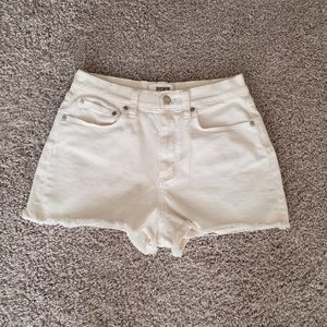 Pink Victoria's Secret High Rise Cut Off Shorts